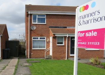 Thumbnail 1 bed semi-detached house for sale in Fox Howe, Coulby Newham, Middlesbrough