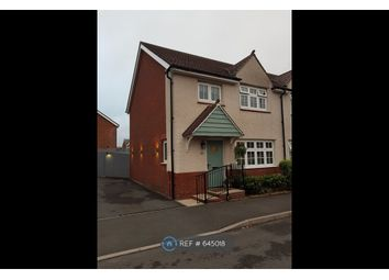 Thumbnail 3 bed semi-detached house to rent in Clos Maes Rhedyn, Gorslas, Llanelli