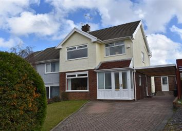 Thumbnail 3 bed semi-detached house for sale in Gwerneinon Road, Derwen Fawr, Swansea