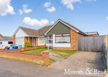 Thumbnail 4 bed semi-detached bungalow to rent in Dorothy Avenue, Bradwell, Great Yarmouth