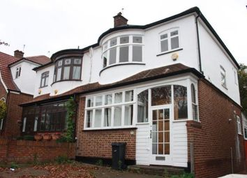 Thumbnail 4 bed semi-detached house to rent in Norwood Park Road, London