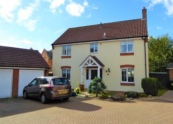 Thumbnail 4 bed detached house for sale in Sage Avenue, Sage Avenue, Downham Market, Norfolk, Downham Market