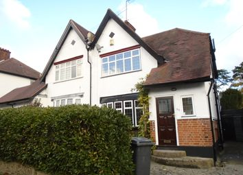 Thumbnail 3 bed semi-detached house to rent in Highland Road, New Barnet