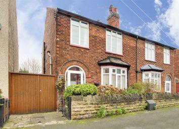 Thumbnail 3 bed semi-detached house for sale in Aubrey Road, Carrington, Nottinghamshire