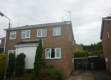 Thumbnail 2 bed semi-detached house to rent in Polyfields Lane, Bolsover, Chesterfield