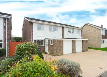 Thumbnail 4 bedroom semi-detached house to rent in Queens Close, St. Ives, Huntingdon