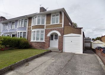 Thumbnail 3 bed semi-detached house for sale in Bryntirion Hill, Bridgend