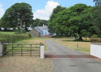 Thumbnail 4 bed farm for sale in Ysguborwen, (Nr Newport), Felindre Farchog, Crymych, Pembrokeshire