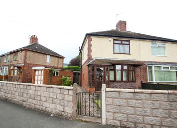 Thumbnail 2 bedroom semi-detached house for sale in Shelford Road, Sandyford, Stoke-On-Trent