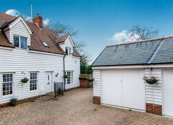 Thumbnail 4 bed end terrace house for sale in Church Street, Great Baddow, Chelmsford