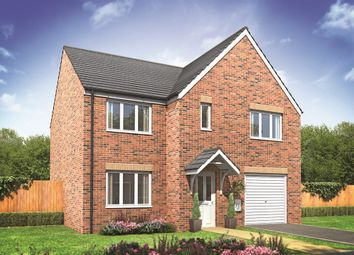 "Thumbnail 4 bed detached house for sale in ""The Warwick"" at Riber Drive, Chellaston, Derby"