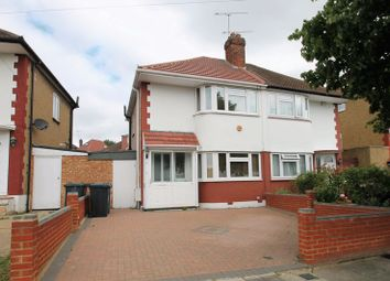 Thumbnail 3 bed semi-detached house to rent in Gonville Crescent, Northolt