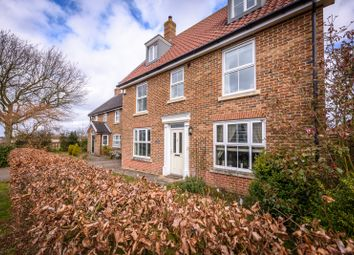 Thumbnail 6 bed detached house for sale in New Road, Tacolneston