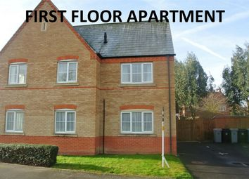 Thumbnail 2 bed flat for sale in Aykroft, Bourne, Lincolnshire