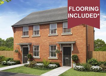 "Thumbnail 2 bedroom semi-detached house for sale in ""Wilford"" at Callow Hill Way, Littleover, Derby"