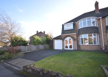 Thumbnail 3 bed semi-detached house to rent in Wroxall Road, Solihull, West Midlands