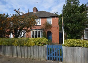 Thumbnail 3 bed semi-detached house for sale in Houlditch Road, Knighton, Leicester