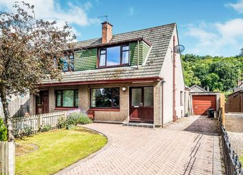 Thumbnail 3 bed semi-detached house for sale in Dores Road, Inverness