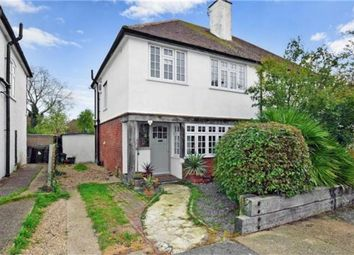 Thumbnail 3 bed semi-detached house for sale in Manor Road, Whitstable, Kent