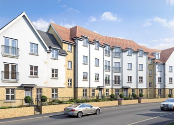 Thumbnail 2 bedroom flat for sale in Regent's Court, South Street, Bishop's Stortford, Hertfordshire