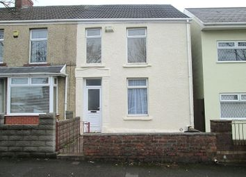 Thumbnail 3 bed terraced house for sale in Station Road, Fforestfach, Swansea, City & County Of Swansea.