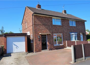 Thumbnail 2 bed semi-detached house for sale in Fiskerton Drive, Lincoln
