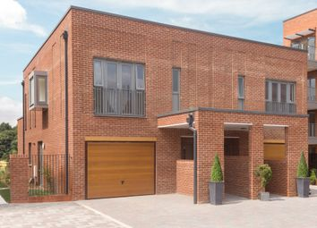 "Thumbnail 3 bedroom semi-detached house for sale in ""Villa"" at Hauxton Road, Trumpington, Cambridge"