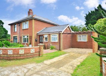 Thumbnail 3 bed semi-detached house for sale in Alverstone Road, Apse Heath, Isle Of Wight