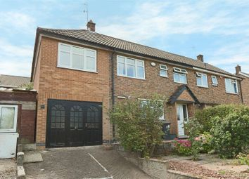 Thumbnail 3 bedroom semi-detached house for sale in Wollaton Avenue, Gedling, Nottingham
