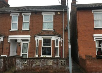 Thumbnail 3 bed semi-detached house for sale in Melville Road, Ipswich