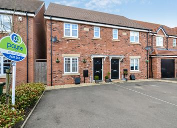 Thumbnail 3 bed semi-detached house for sale in Auburndale Avenue, Bannerbrook Park, Coventry