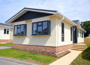 Thumbnail 2 bedroom mobile/park home for sale in Woodlands Park, Stopples Lane, Hordle, Lymington