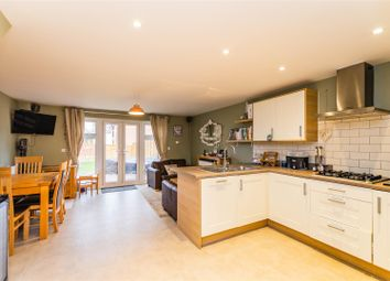 Thumbnail 3 bed town house for sale in Willowcroft Way, Cringleford, Norwich