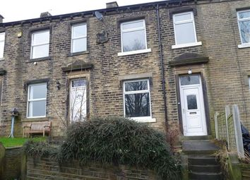 Thumbnail 3 bedroom terraced house for sale in Station Road, Golcar, Huddersfield