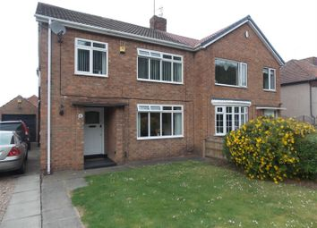 Thumbnail 3 bedroom semi-detached house for sale in The Crescent, Ormesby, Middlesbrough