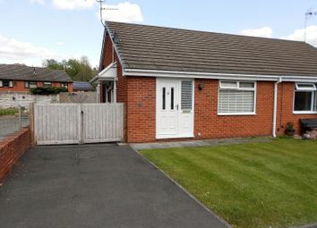 Thumbnail 2 bed bungalow for sale in Pont Yr Afon, Penycae, Wrexham