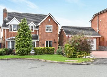 Thumbnail 4 bed detached house for sale in Grizedale Close, Burton-On-Trent