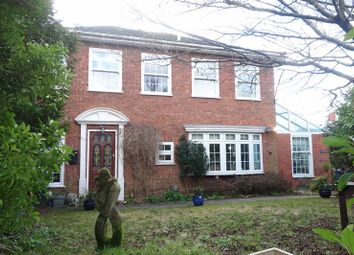 Thumbnail 4 bed detached house for sale in Manor Road, Aldershot