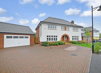 Thumbnail 5 bed detached house for sale in Quarry Road, Ryarsh, West Malling, Kent