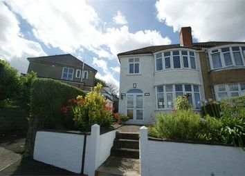 Thumbnail 3 bed semi-detached house for sale in Lon Towy, Cockett, Swansea