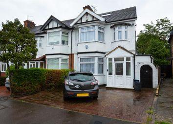 Thumbnail 4 bedroom end terrace house for sale in Elmcroft Avenue, London