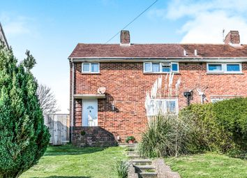 Thumbnail 3 bed end terrace house for sale in The Crestway, Brighton