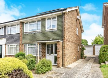 Thumbnail 3 bed semi-detached house for sale in Grainger Close, Basingstoke