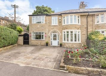 Thumbnail 4 bed semi-detached house for sale in Savile Glen, Halifax, West Yorkshire