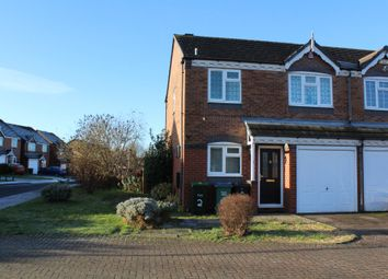 Thumbnail 3 bedroom semi-detached house for sale in Crownmeadow Drive, Tipton
