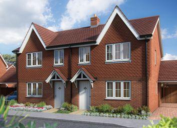 "Thumbnail 3 bed semi-detached house for sale in ""The Hazel"" at Headcorn Road, Staplehurst, Tonbridge"