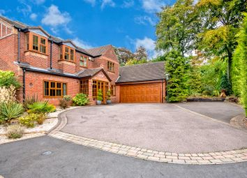 Thumbnail 4 bed detached house for sale in Hatherton Croft, Shoal Hill, Cannock