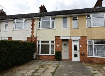 Thumbnail 3 bed terraced house for sale in Parliament Road, Ipswich