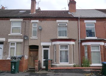 Thumbnail 3 bedroom terraced house to rent in Hollis Road, Stoke, Coventry, West Midlands