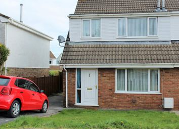 Thumbnail 3 bed property for sale in Teglan Park, Tycroes, Ammanford
